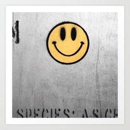 Acid House Art Print
