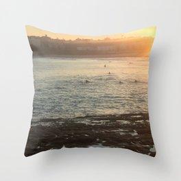 Bondi Sundowners Throw Pillow