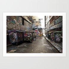 Hosier Lane Art Print