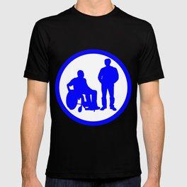 Disabled friend parking sign T-shirt