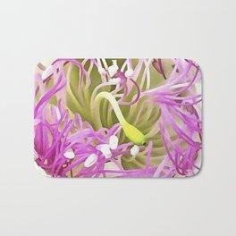 Caper Flower Blossom Bath Mat