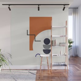 Abstract Shapes - Autumn Wall Mural