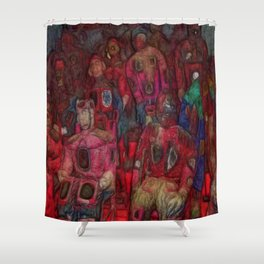 Army Of Ancestors Shower Curtain