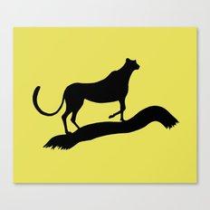 Cheetah Grace Canvas Print