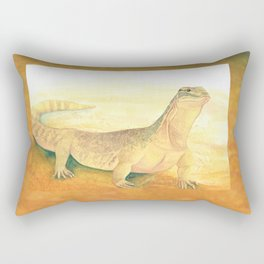 Desert Goanna Rectangular Pillow