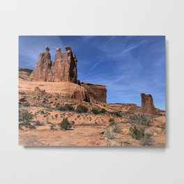 Red Rocks : Arches National Park Metal Print