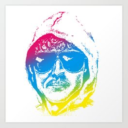 Colorful Unabomber Art Print