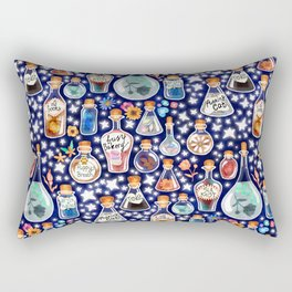 If Happiness Could Be Bottled  Rectangular Pillow