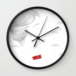 Mary Poppins Wall Clock