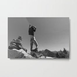 Mountain Freedom  Metal Print