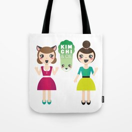 Alexandra et Kim! Tote Bag