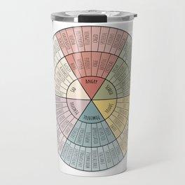 Feelings Wheel - Muted Travel Mug