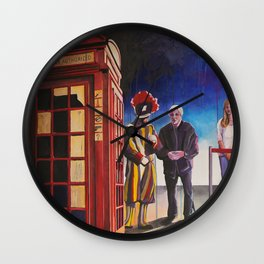 Death cab authorized Wall Clock