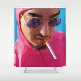 Pink Guy Shower Curtain