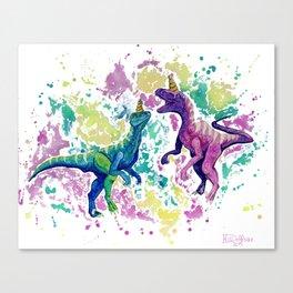 Raptor Dreams Canvas Print
