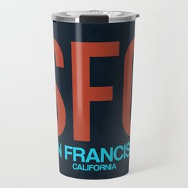 SFO San Francisco Luggage Tag 2 Travel Mug