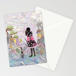Mysterious East Stationery Cards
