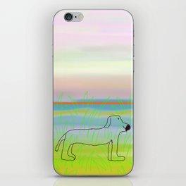 allie's dog iPhone Skin