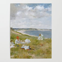 Idle Hours by William Merritt Chase Poster