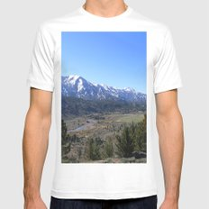 Sonora Pass MEDIUM Mens Fitted Tee White
