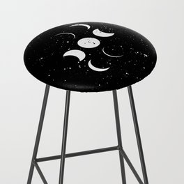 To the moon and back Bar Stool