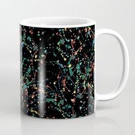 Splat Color Black R Coffee Mug