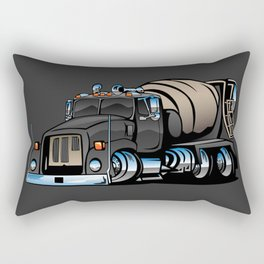 Cement Mixer Truck Rectangular Pillow