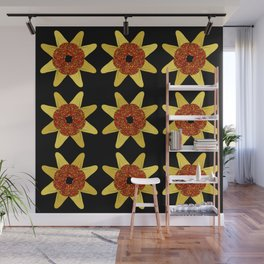 Golden Flower Of Missiles Wall Mural