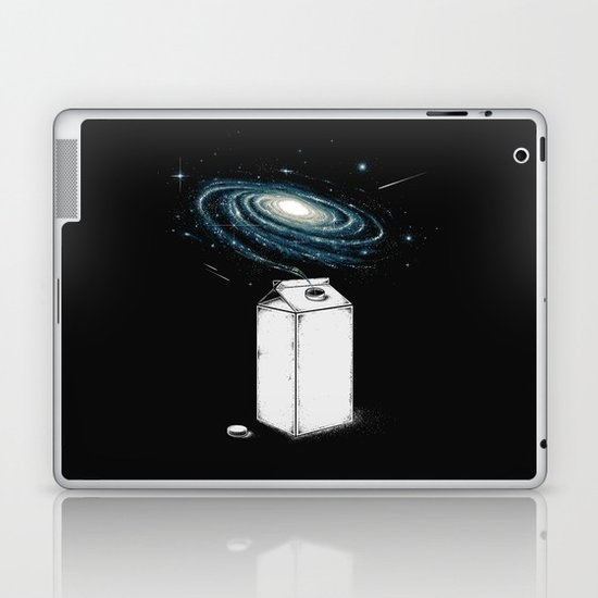 Milky Galaxy Laptop & iPad Skin
