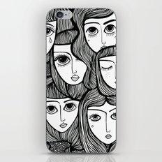 Faces  iPhone Skin