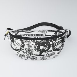 I Want To Ride My Bike Fanny Pack