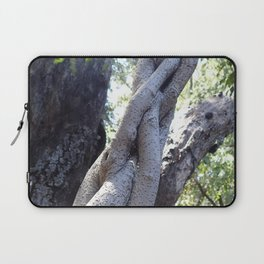 Twisted ficus forest Laptop Sleeve