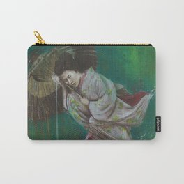 The Geisha on the Washing Line Carry-All Pouch