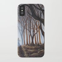 forrest iPhone & iPod Cases featuring Dark Forrest by Annette Jimerson