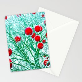 Rhythm of Winter Stationery Cards