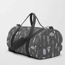 In The Kitchen — Grey Duffle Bag