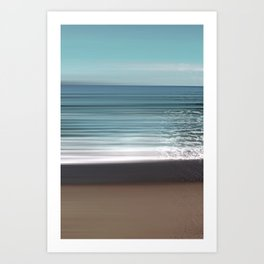 Longing to the Ocean I Art Print