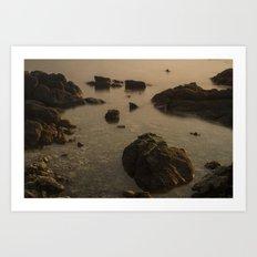 Koh Phangan Rocks Art Print