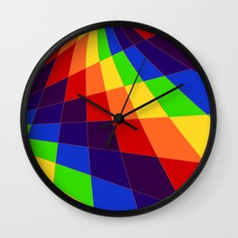 "ROY G Biv - ""Another Look"" Wall Clock"