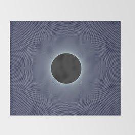 Stephen Hawking: Event Horizon Throw Blanket