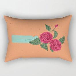 Floral drawing I: camellia Rectangular Pillow