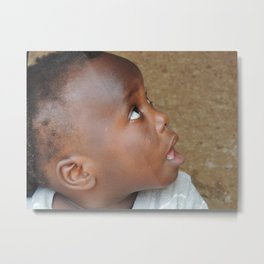 African child 2 Metal Print