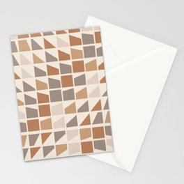 Changing terrazzo pattern Stationery Cards