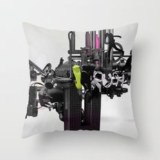 'RUSH'TWO Throw Pillow