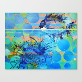 Sun, Sand and Surgeonfish in Sharm Canvas Print