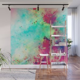 Join The Heavens - Abstract Space Painting Wall Mural