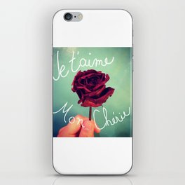 Je t'aime iPhone Skin
