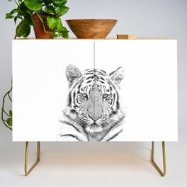 Black and white tiger Credenza