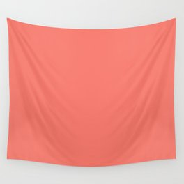PEACH ECHO PANTONE 16-1548 Wall Tapestry