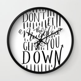 Muggle Cheer Wall Clock